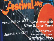 SALINDRES Color Blues Festival 2015, ce week-end !