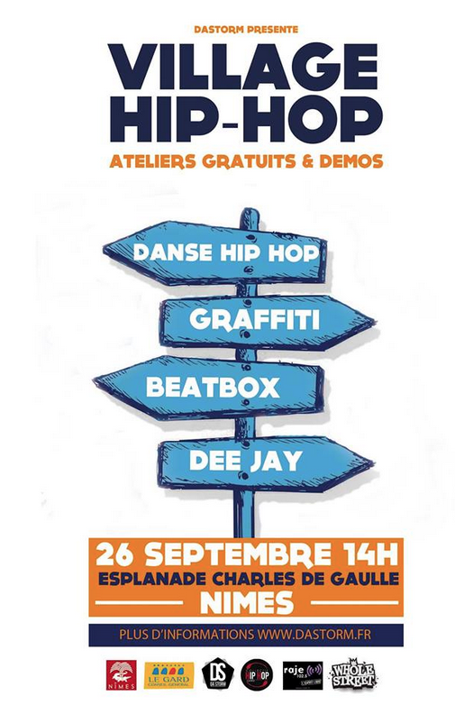 Photo of NÎMES Un village hip hop s'installe sur l'Esplanade, ce samedi !