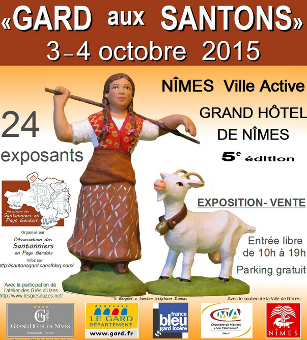 Photo of NÎMES 5ème édition de « Gard aux Santons », ce week-end !