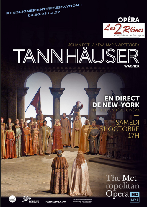 Photo of FOURQUES Retransmission en direct de New York de Tannhäuser de Wagner, ce samedi