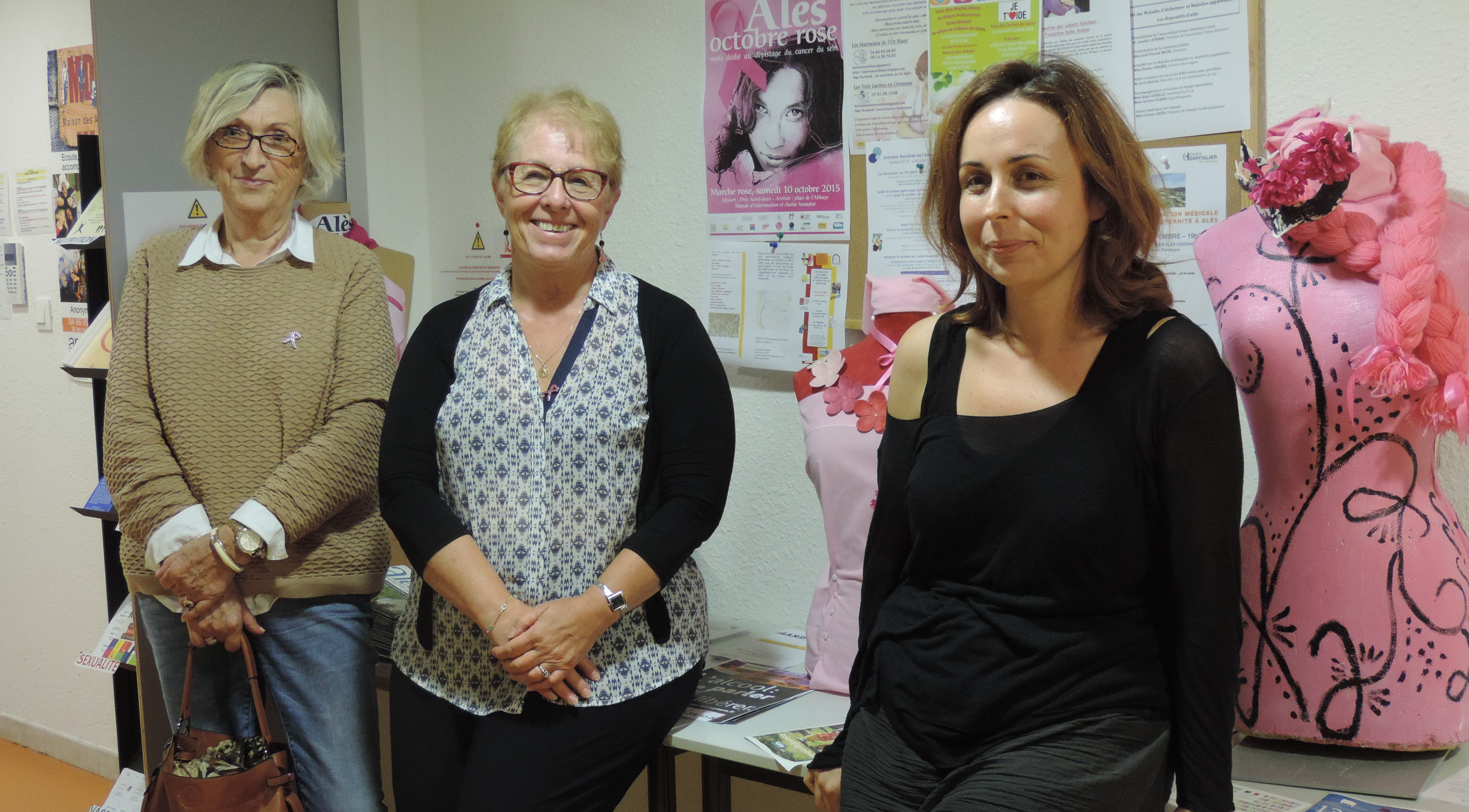Photo of ALÈS Unies contre le cancer du sein