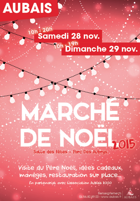Photo of AUBAIS Marché de Noël, ce week-end !