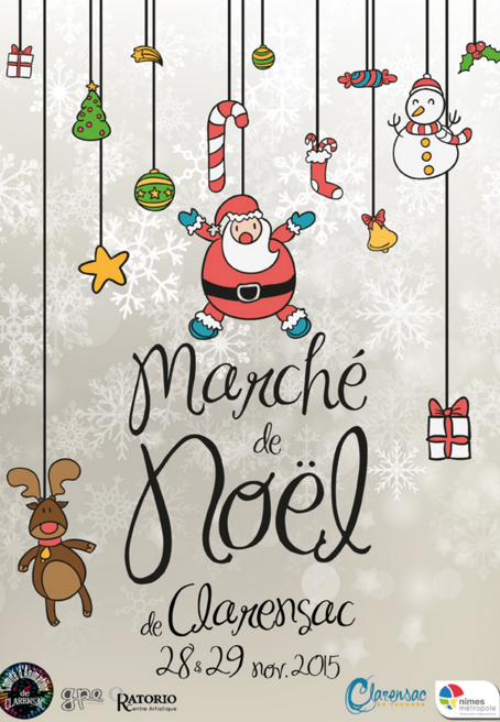 Photo of CLARENSAC Marché de Noël, ce week-end !