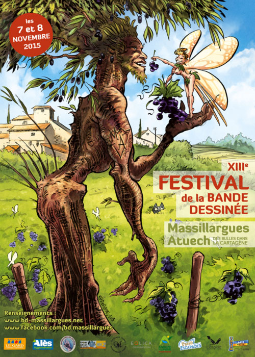 Photo of MASSILLARGUES-ATUECH Festival de la bande-dessinée, ce week-end !