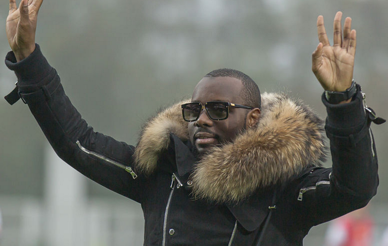 Photo of ALÈS Maître Gims plante ses fans