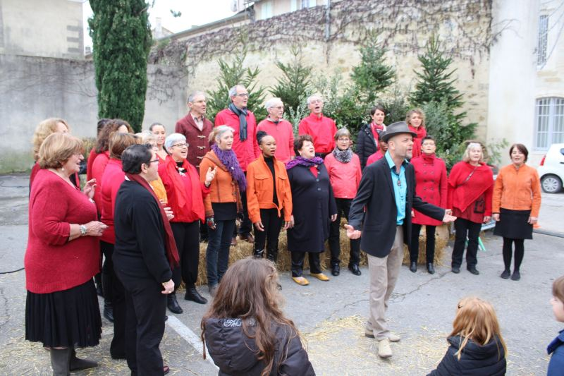 La chorale Gospel Accord (Photo : Thierry Allard / Objectif Gard)