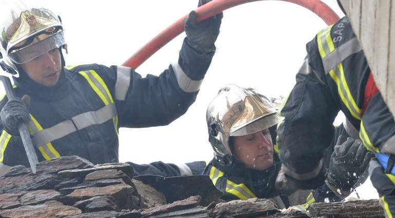 Intervention des pompiers. Photo d'illustration : Sdis 30