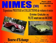 NÎMES Salon auto moto prestige et collection, ce week-end !