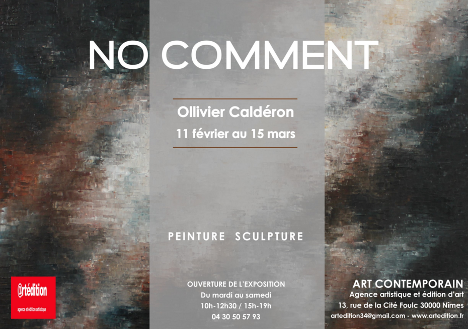 Photo of NÎMES Exposition d'Art Contemporain « No comment » jusqu'au 15 mars 2016