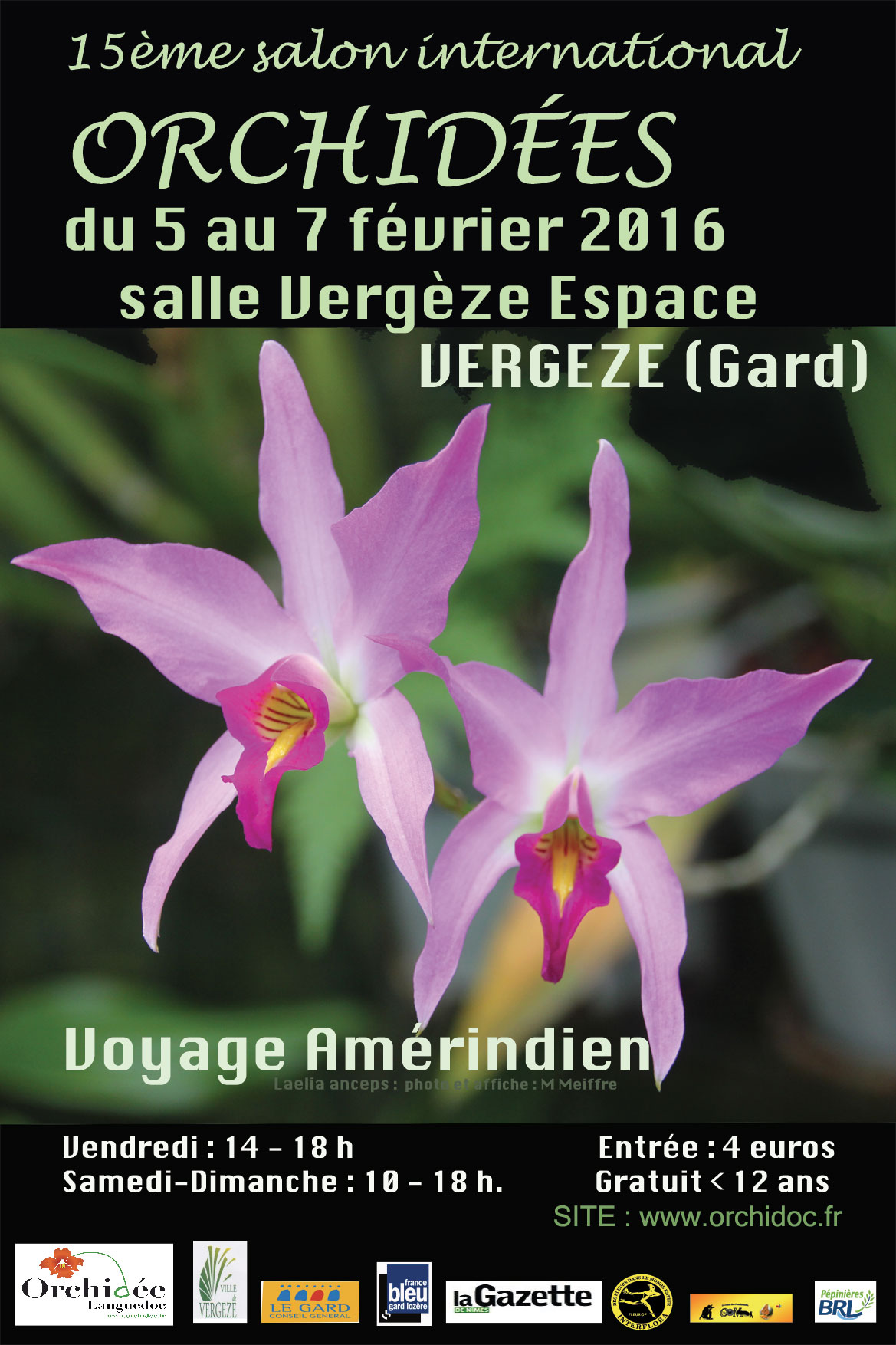 Photo of VERGÈZE 15ème Salon International des orchidées, ce week-end !