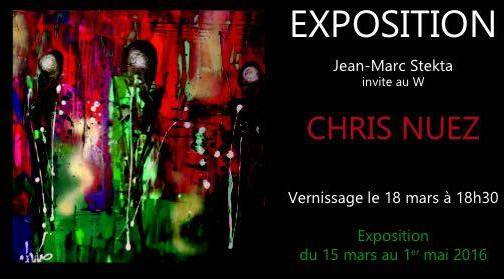 Photo of NÎMES Vernissage de l'exposition de Christelle Nuez au W ce soir à 18h30