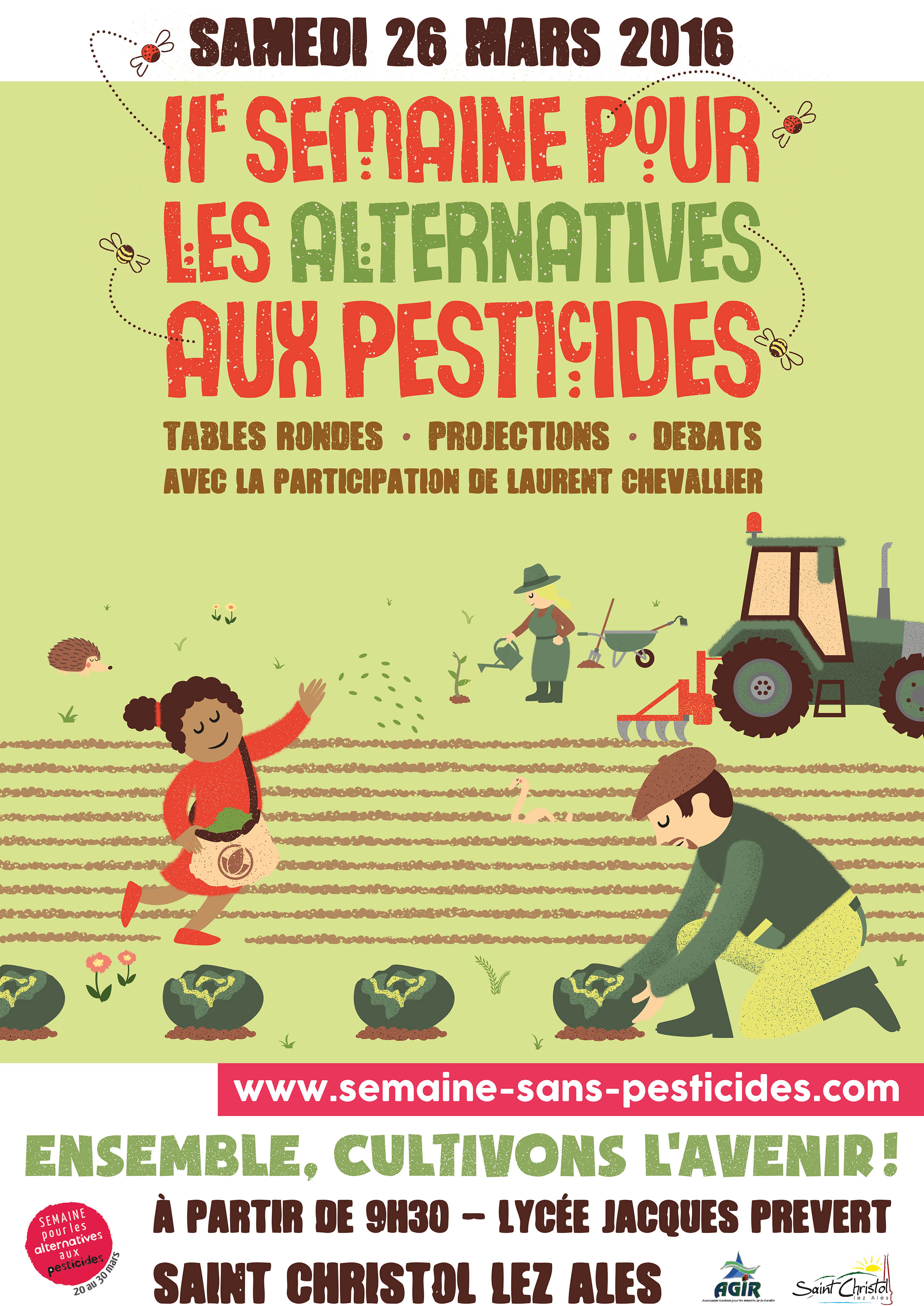 Photo of SAINT-CHRISTOL-LEZ-ALÈS Semaine pour les alternatives aux pesticides, ce samedi !