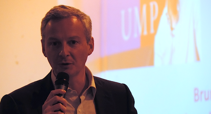 Bruno Le Maire. Photo : Coralie Mollaret.