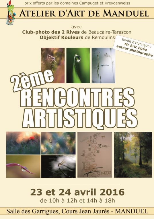 Photo of MANDUEL Rencontres artistiques, ce week-end !