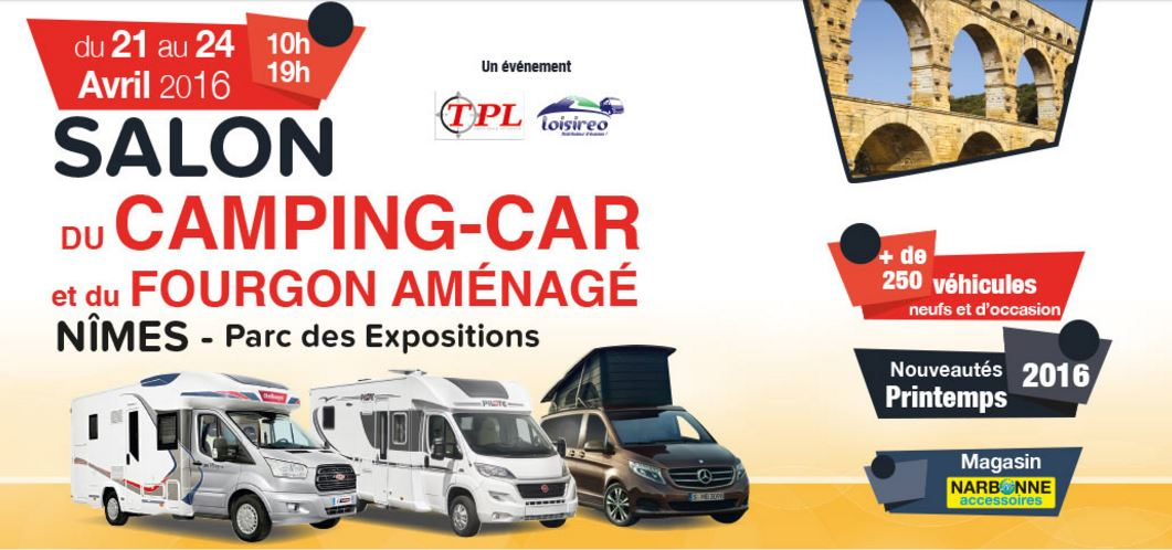 N mes 6 me salon du camping car ce week end au parc des for Salon camping car paris