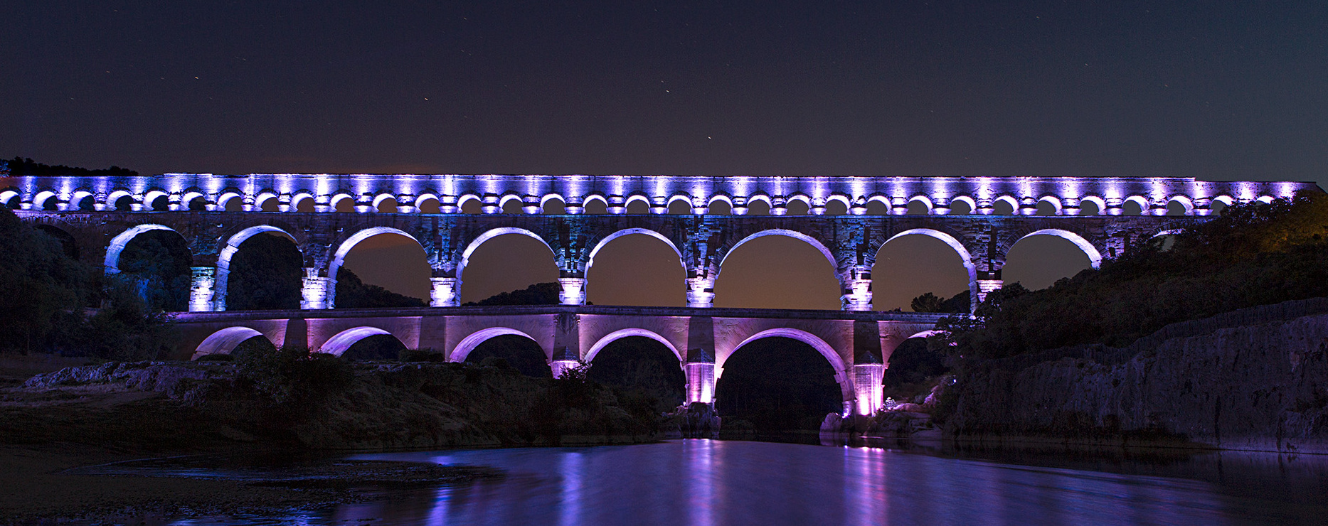 Le Pont Du Laurent Aurillac France