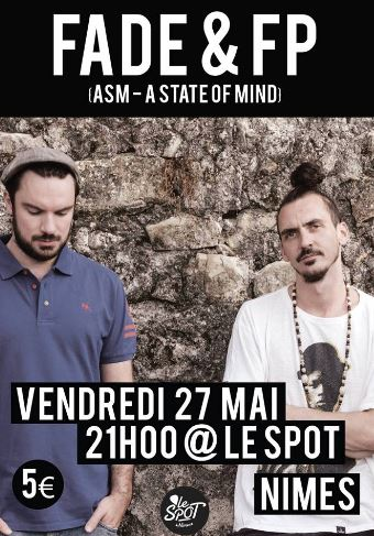 Photo of NÎMES Concert de Fade & FP au Spot, ce vendredi !