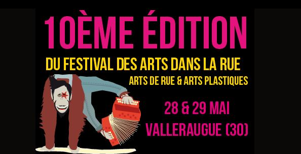 Photo of VALLERAUGUE 10ème édition du Festival des Arts dans la Rue, ce week-end !