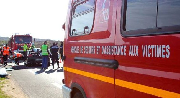 Photo of GARD Accident : voiture sur le toit, quatre blessés