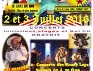 GRAU-DU-ROI Week-end Américain Country & Line Dance !