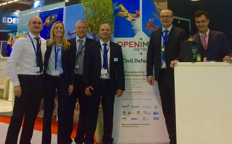Photo of PROMOTION Succès pour OpeNîmes au salon Eurosatory à Paris