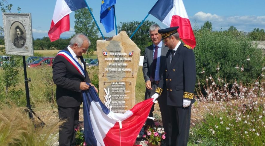 Photo of DANS NOS VILLAGES Un hommage aux Esplanins morts pour la France