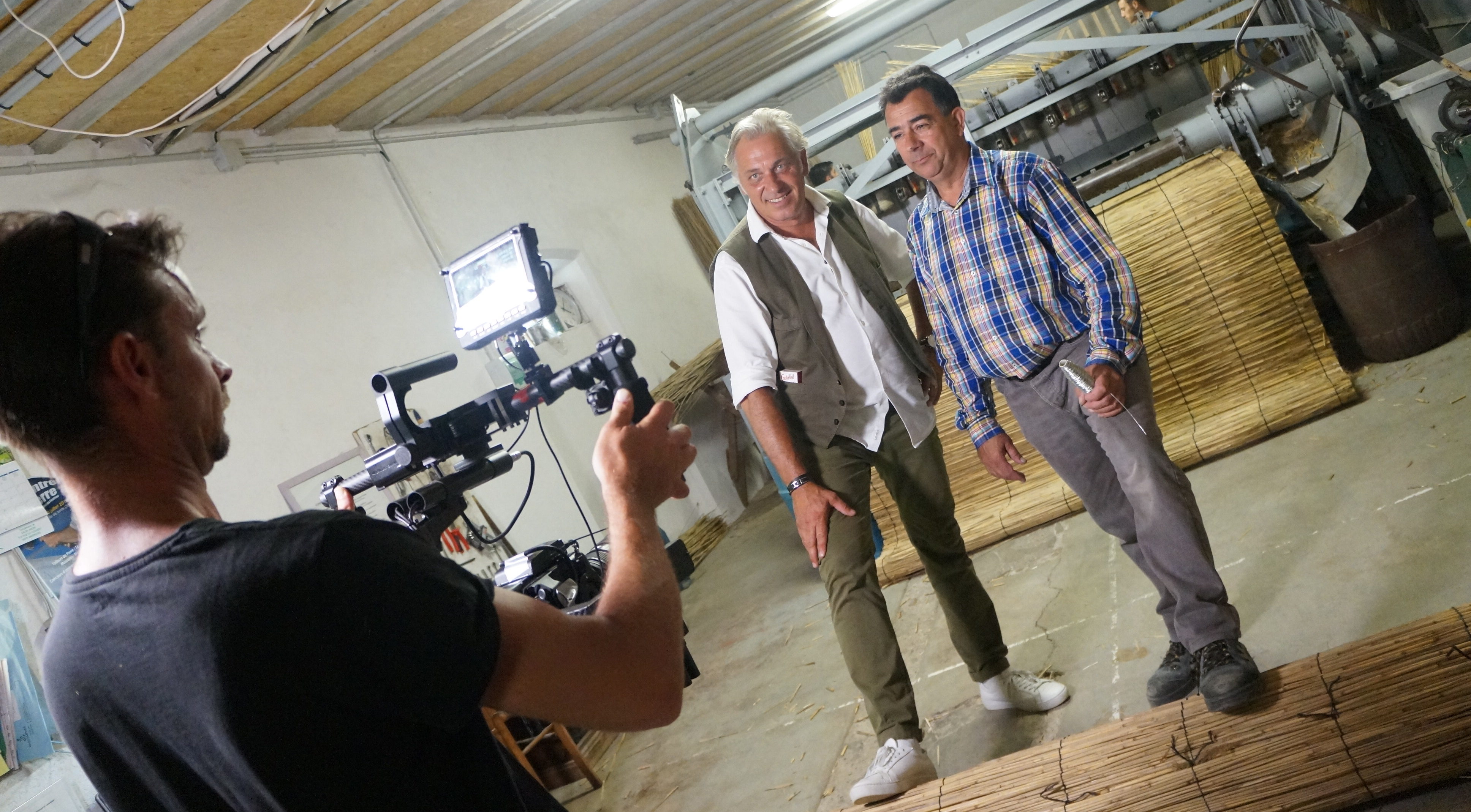 Photo of AIMARGUES L'émission La maison France 5 en tournage dans l'atelier Trésor de Camargue