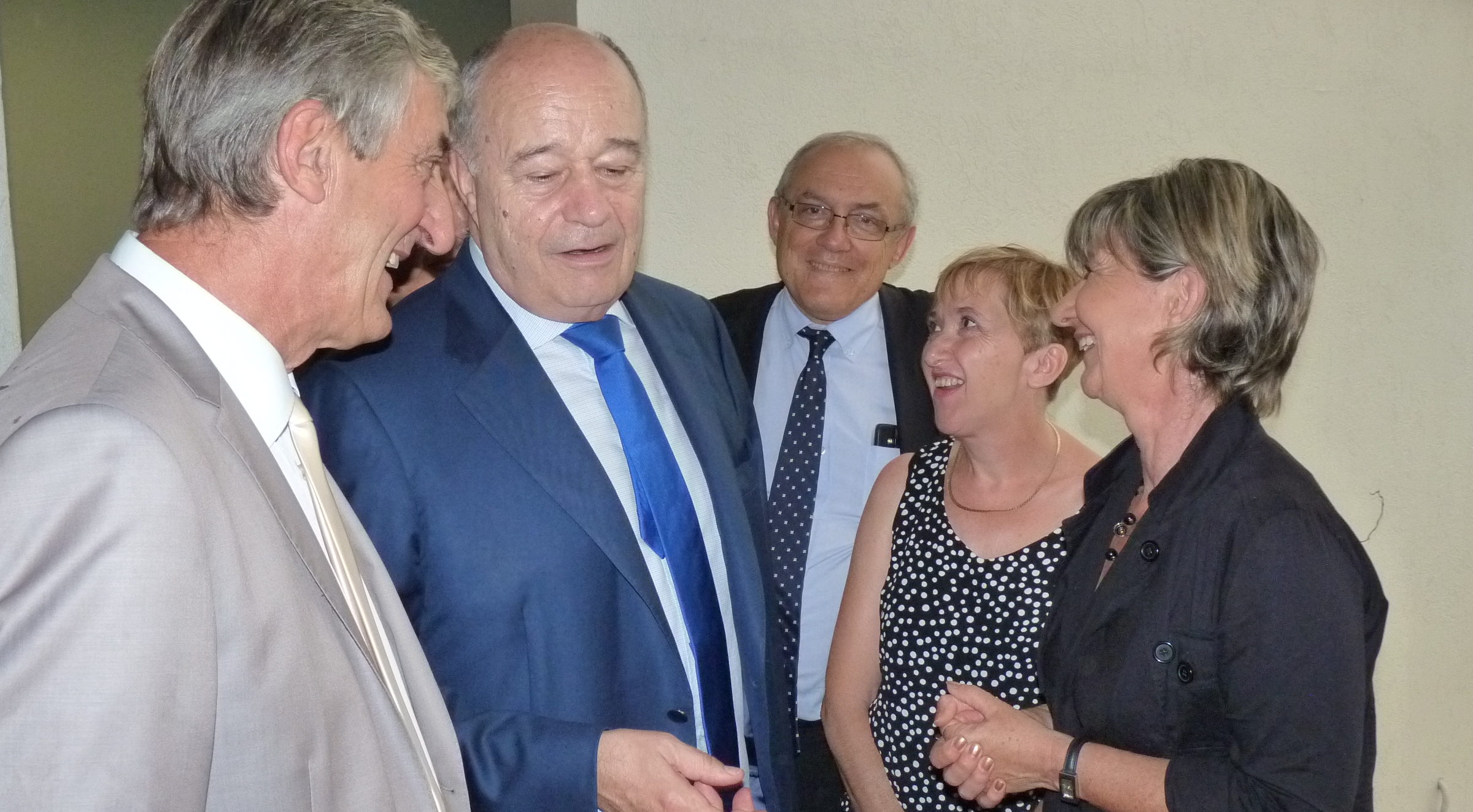 Photo of THERMES DES FUMADES Visite ministérielle : Jean-Michel Baylet promet 500 000 €