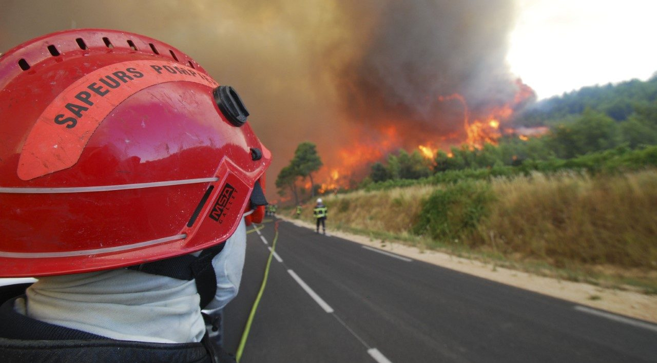 Photo of MARGUERITTES 20 hectares incendiés, 80 pompiers sur place