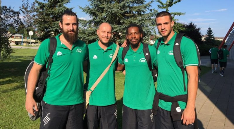 USAM En Slovénie, la Green Team prend l'air