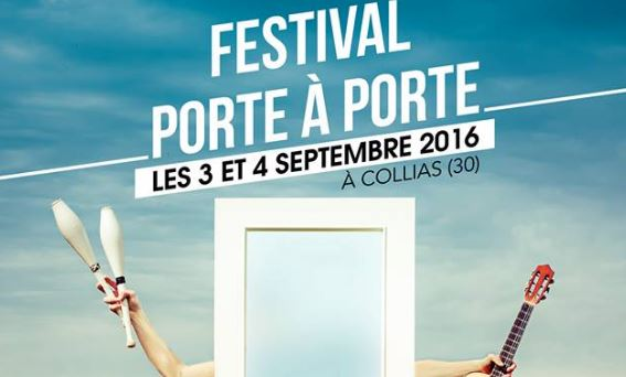 L'AGENDA Le festival Porte à Porte débarque à Collias ce week-end !