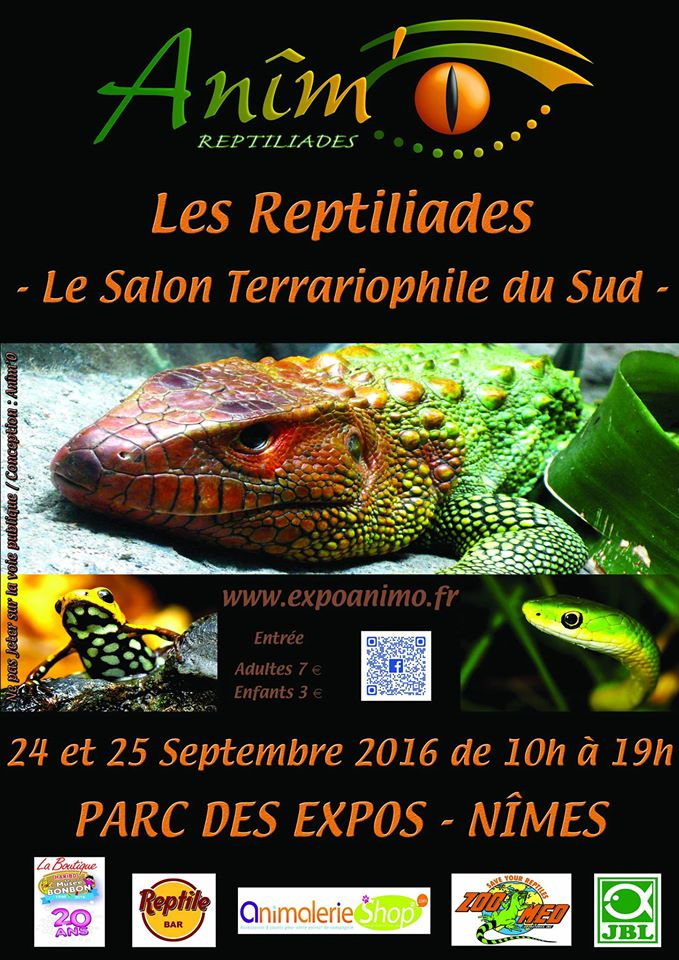 Photo of NÎMES Les Reptiliades de retour au Parc des expositions, ce week-end !