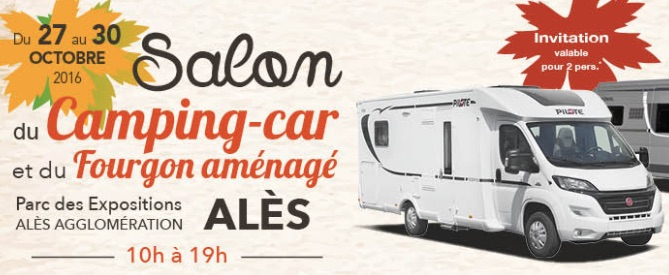 Al s salon du camping car et du fourgon am nag du 27 au for Salon camping car rennes