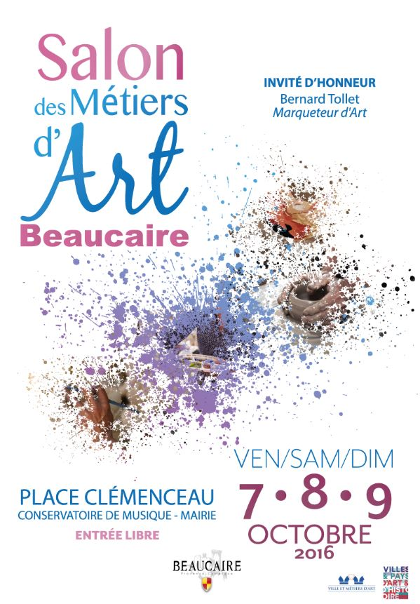 Photo of BEAUCAIRE Salon des métiers d'art, ce week-end !