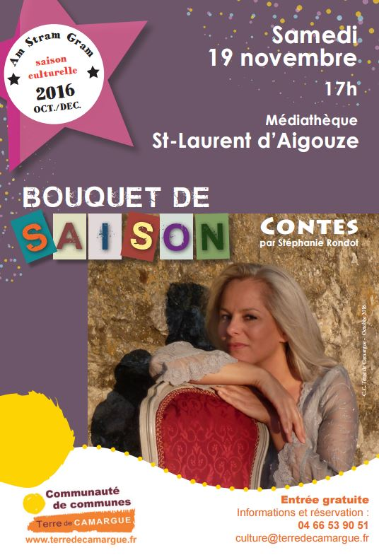 Photo of SAINT-LAURENT D'AIGOUZE Spectacle « Bouquet de saison », ce samedi