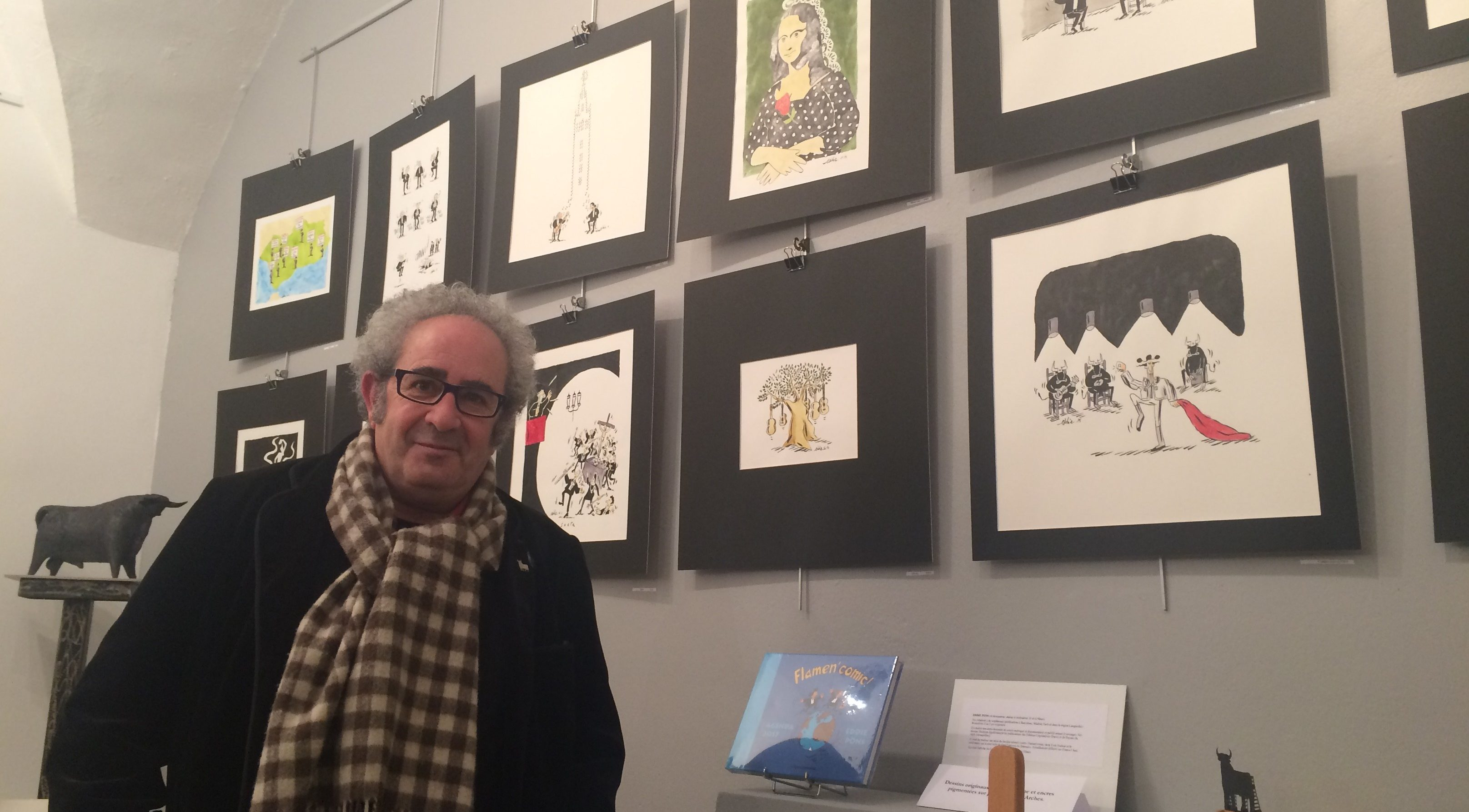 Photo of L'AGENDA Eddie Pons s'expose et livre son Flamen'Comic!