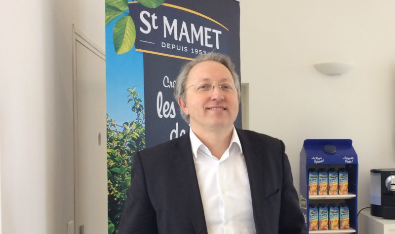 Matthieu Lambeaux, PDG de St Mamet photo Anthony Maurin).
