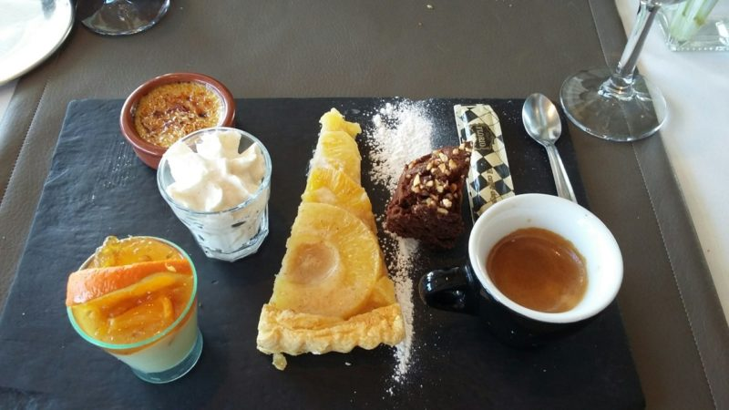 Le café gourmand. Photo Tony Duret / Objectif Gard