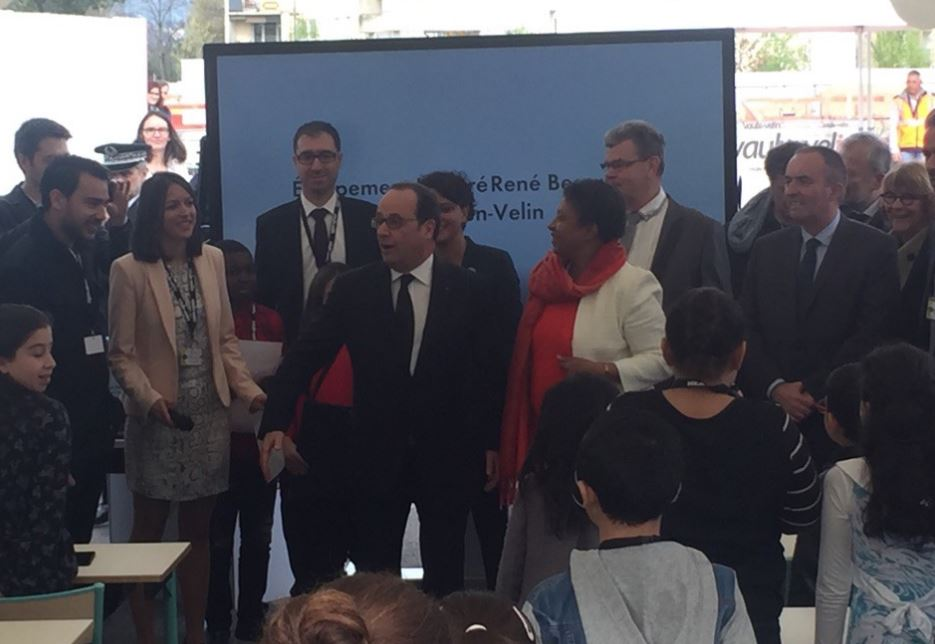 Photo of NÎMES Le Groupe Ordisys rencontre le président François Hollande