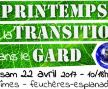 L'AGENDA Le Printemps de la Transition à Nîmes le 22 avril prochain