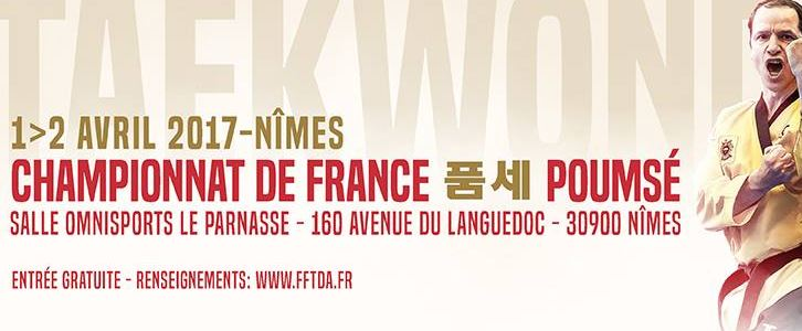 NÎMES Championnat de France de Taekwondo, ce week-end !