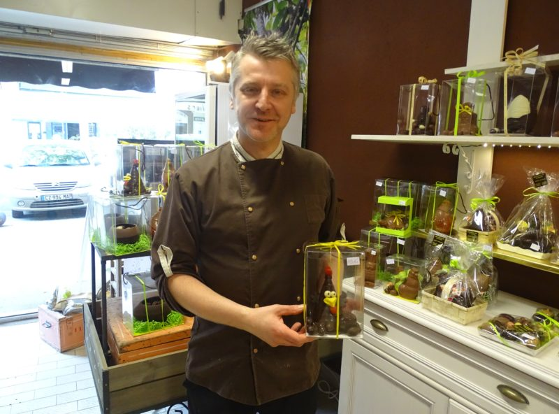 Le chocolatier Alfonso Cannarozzo. Photo Tony Duret / Objectif Gard