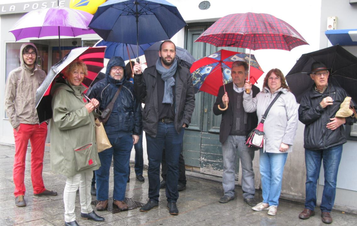 Photo of NÎMES Le PCF se mobilise pour La Poste de l'Ecusson