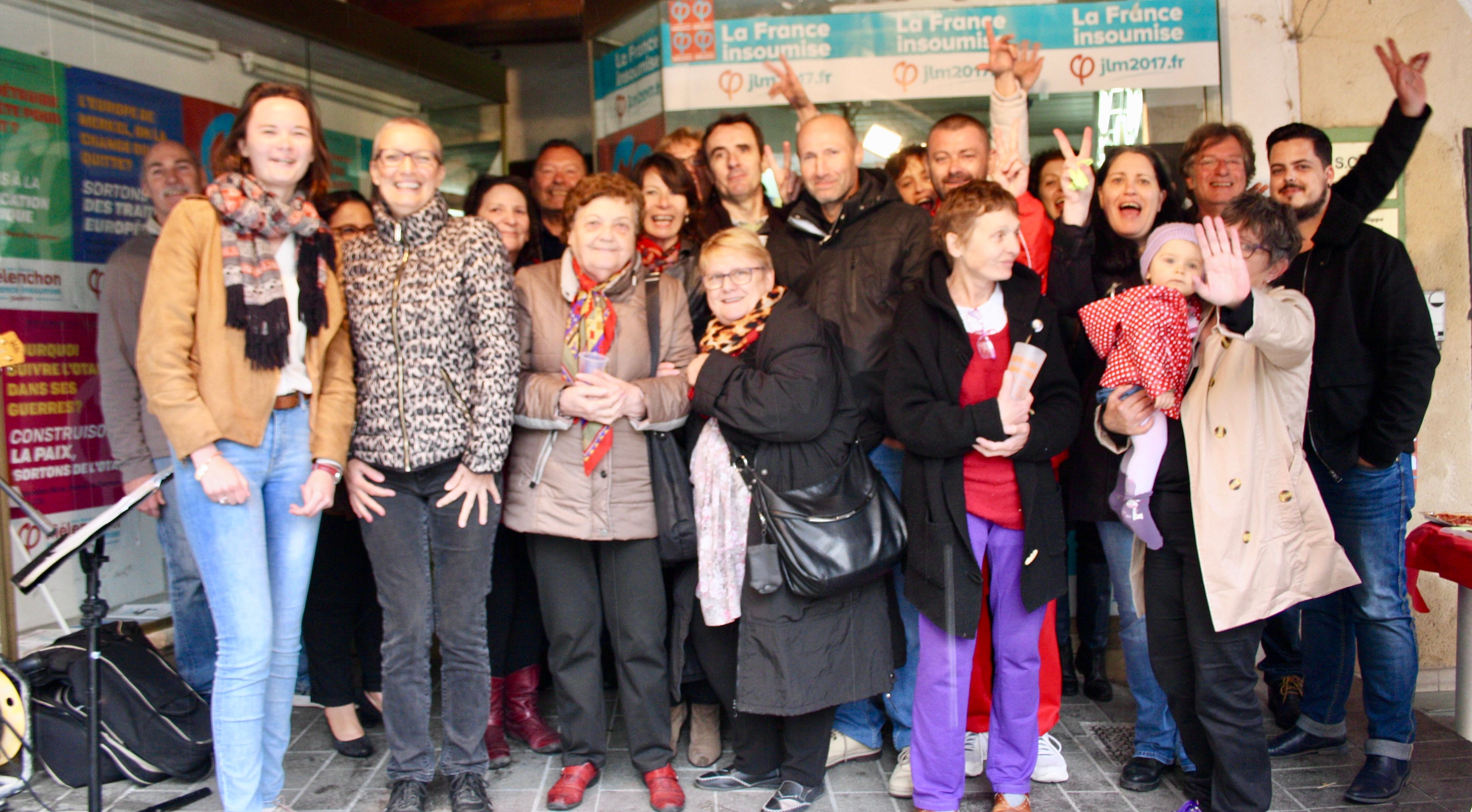 Photo of LÉGISLATIVES 3e circo : la France insoumise a son local de campagne