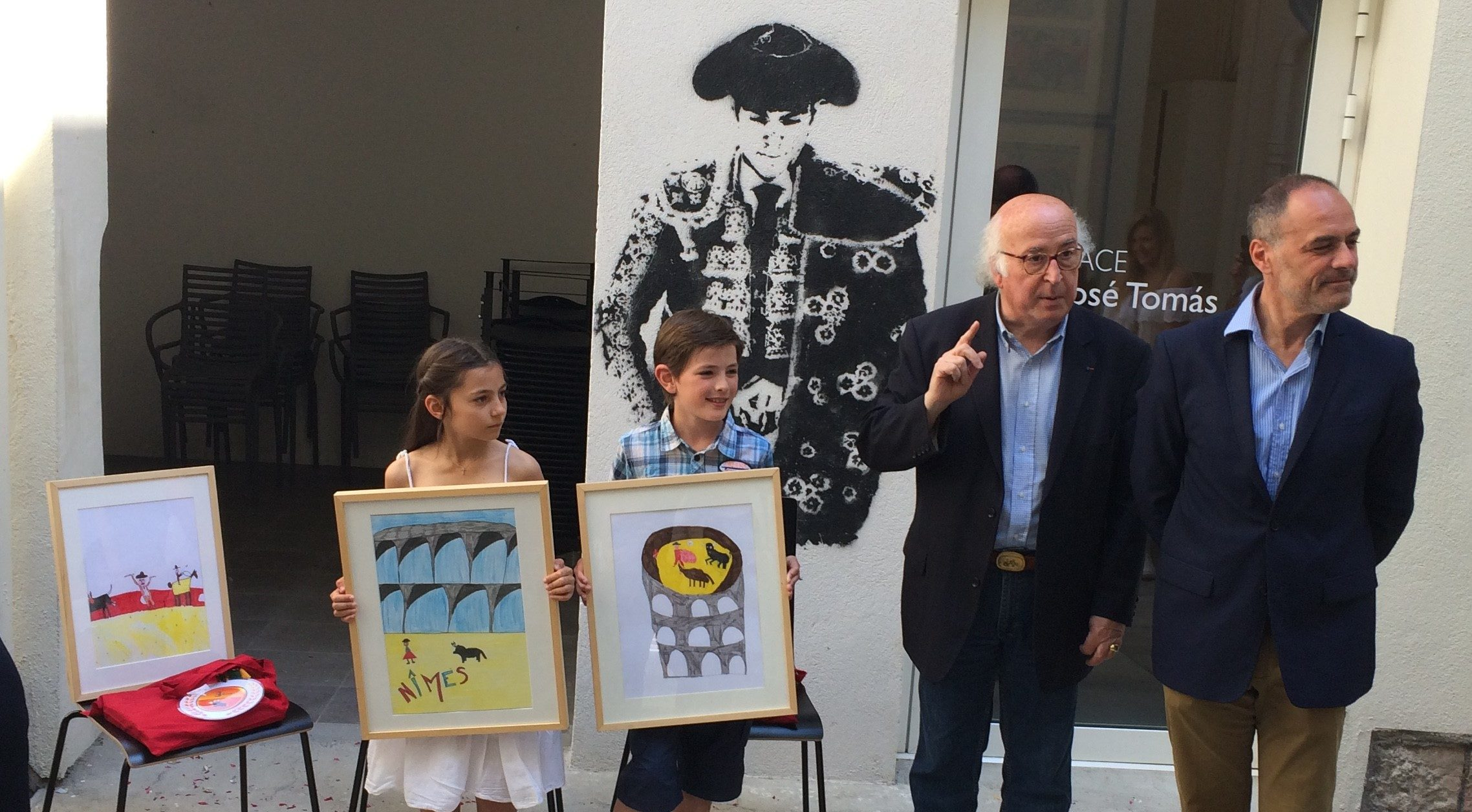 Photo of NÎMES Les enfants dessinent l'aficion de demain