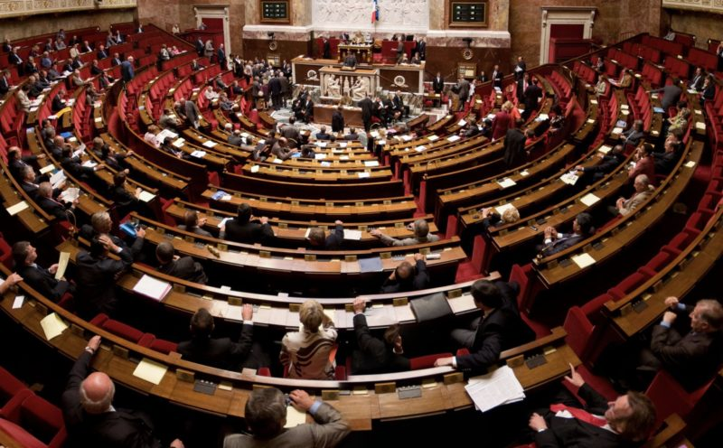 L'assemblée nationale (DR)