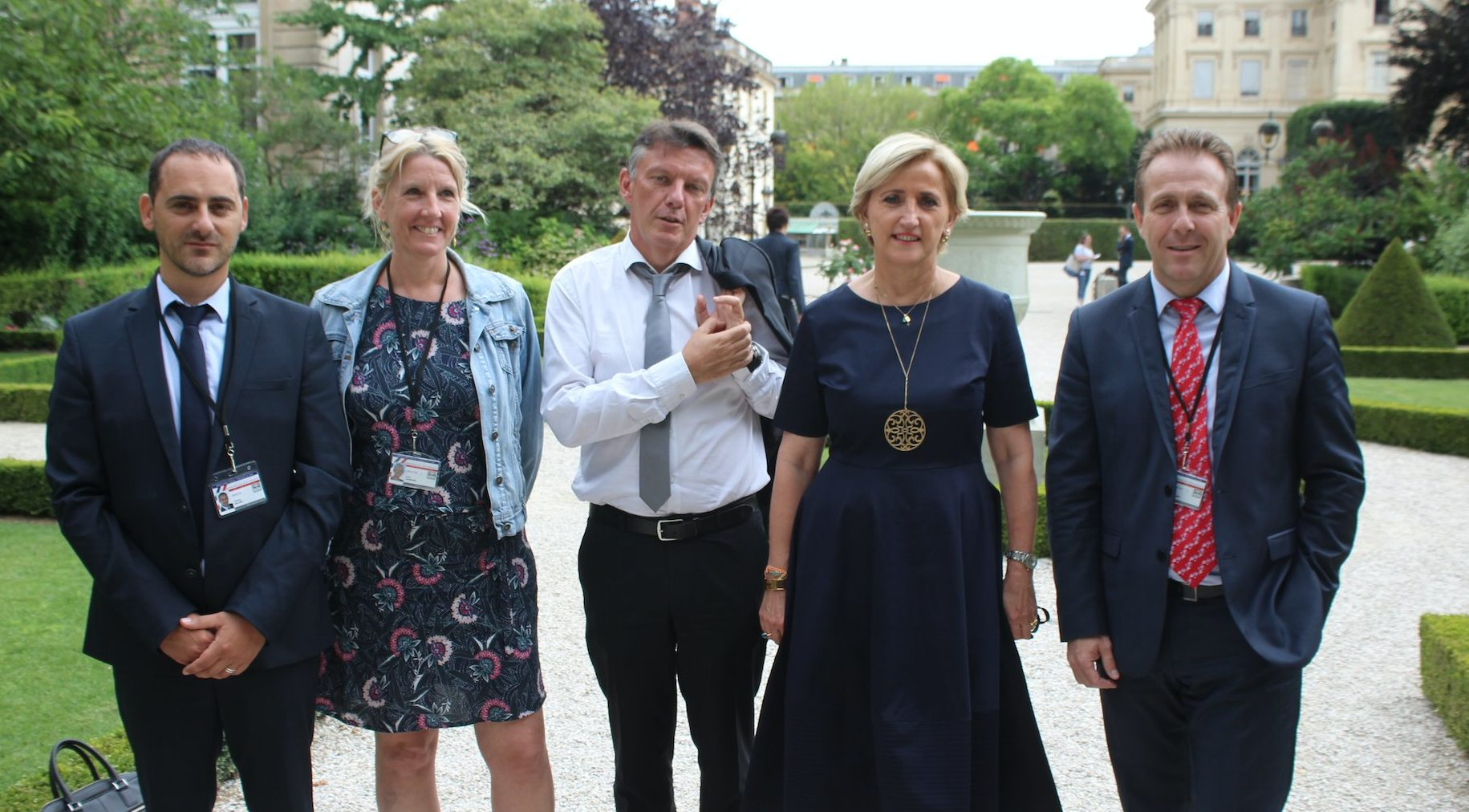 Photo of L'IMAGE Les Marcheurs gardois à l'Assemblée nationale