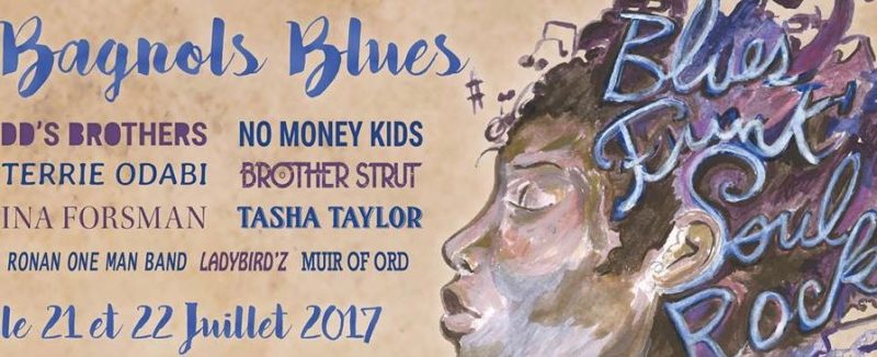 L'AGENDA Bagnols Blues : Tasha Taylor (US) remplace Samantha Fish