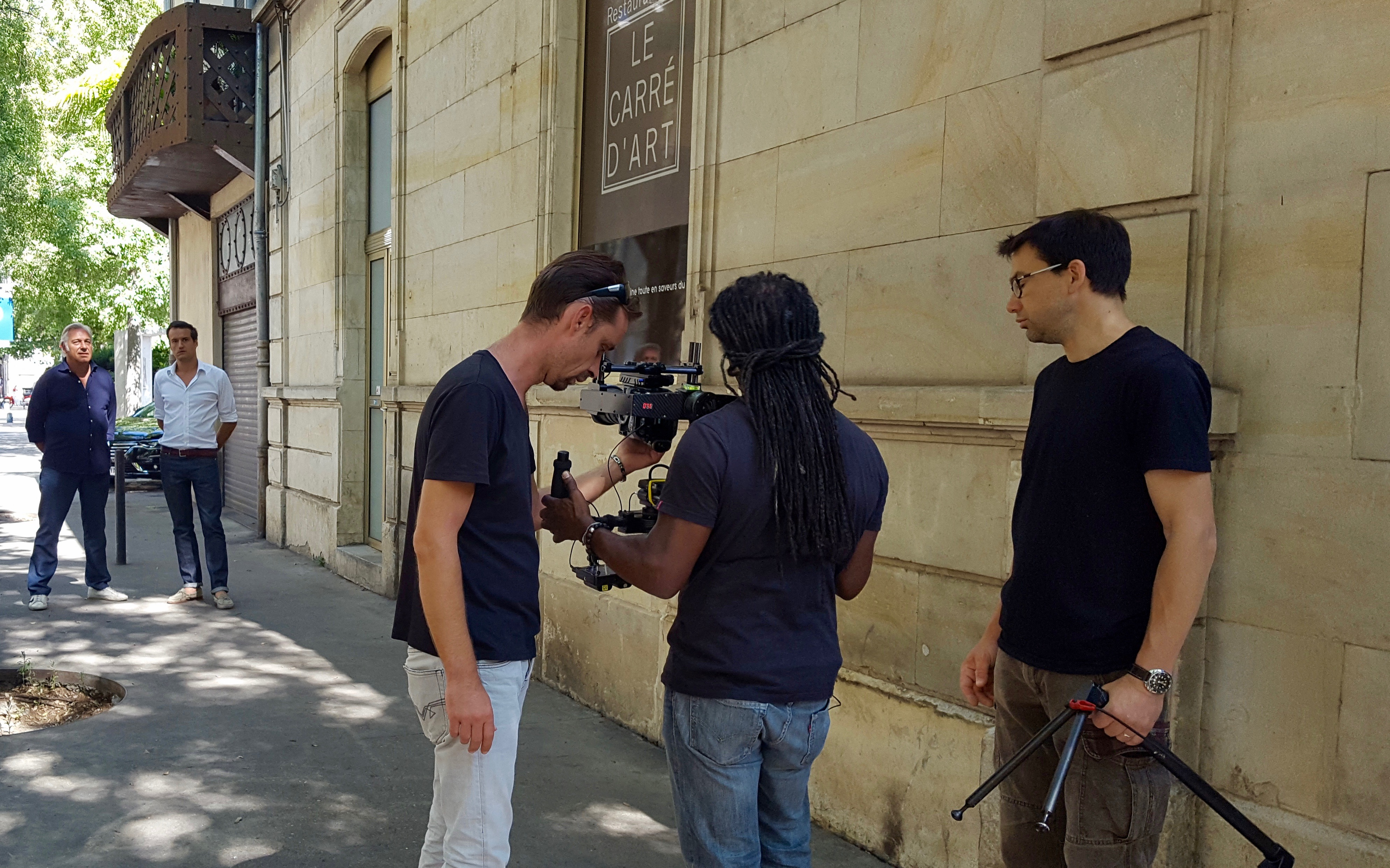 Photo of NÎMES Tournage : La maison France 5