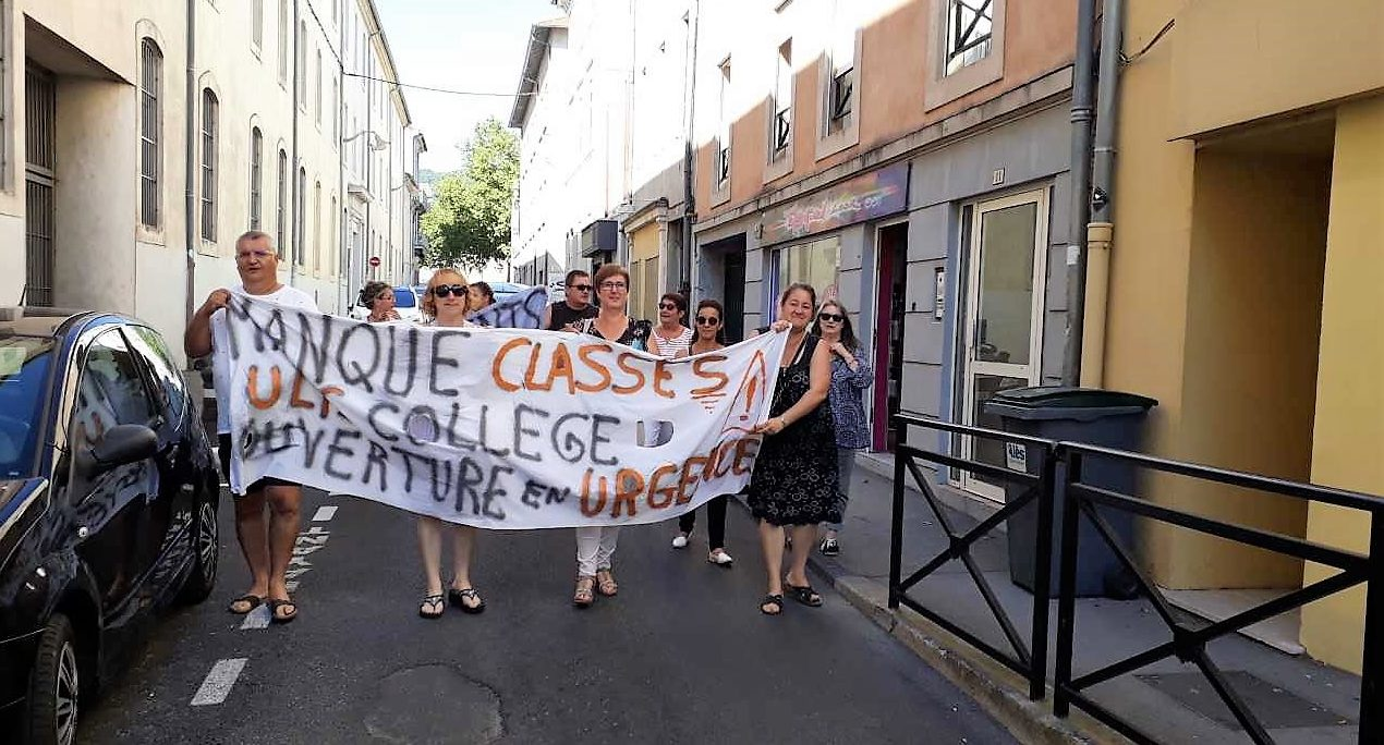 Photo of ALÈS Les parents d'élèves mécontents poursuivent le combat